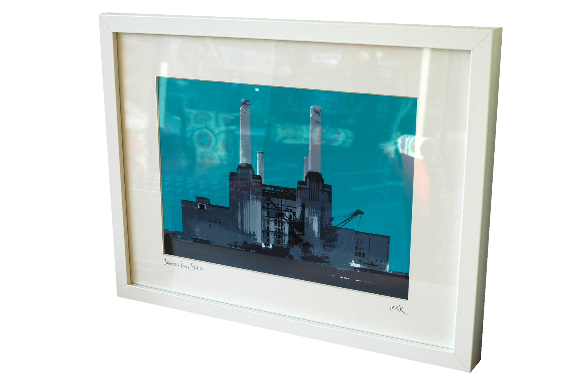 Iconic London landmarks photographic prints, various colours, two sizes