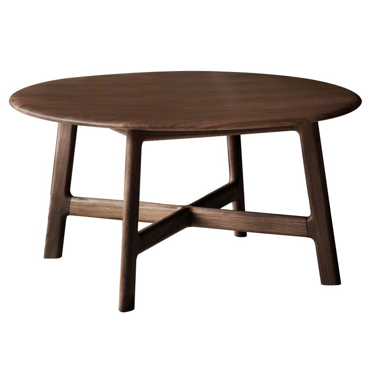Walnut coffee table from E & A Wates